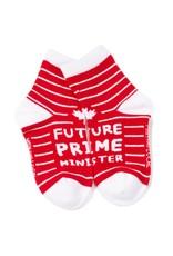Main & Local Children's Future Prime Minister Socks - Red