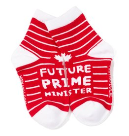 Main & Local Children's Future Prime Minister Socks - Red