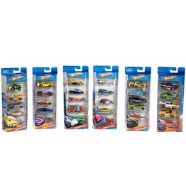 Hot Wheels 5 Car Set