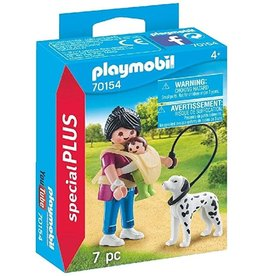 Playmobil Mother with Baby and Dog