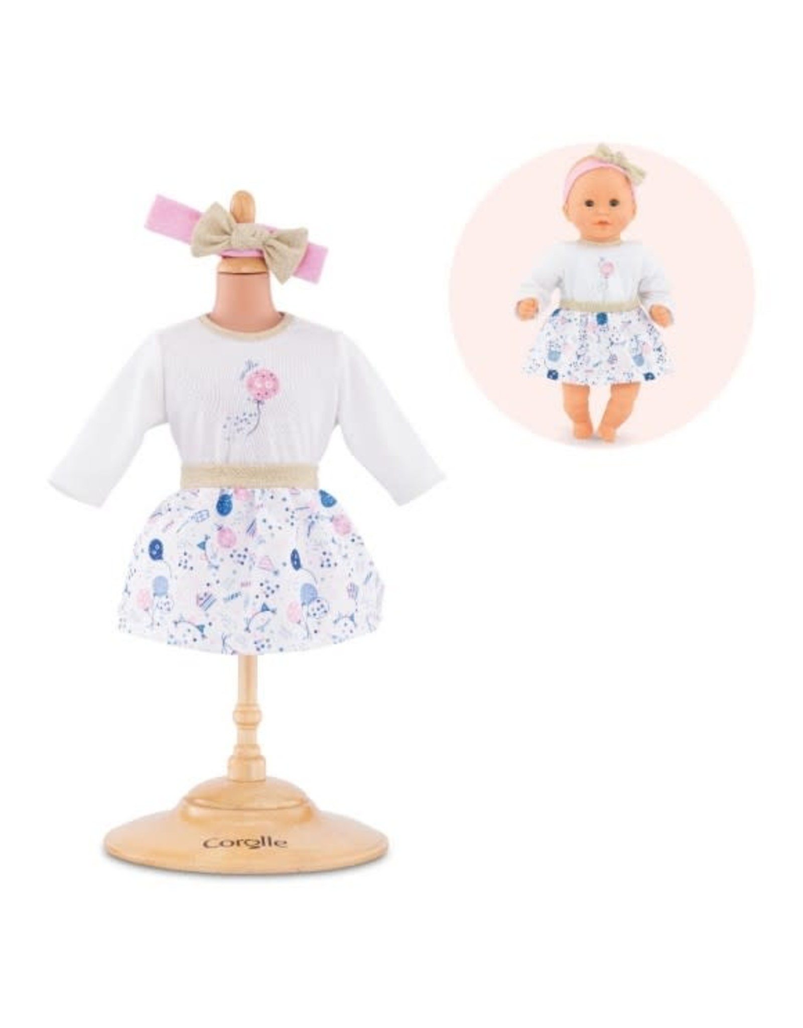 """Corolle Corolle 12"""" 40th Anniversary Outfit Set"""