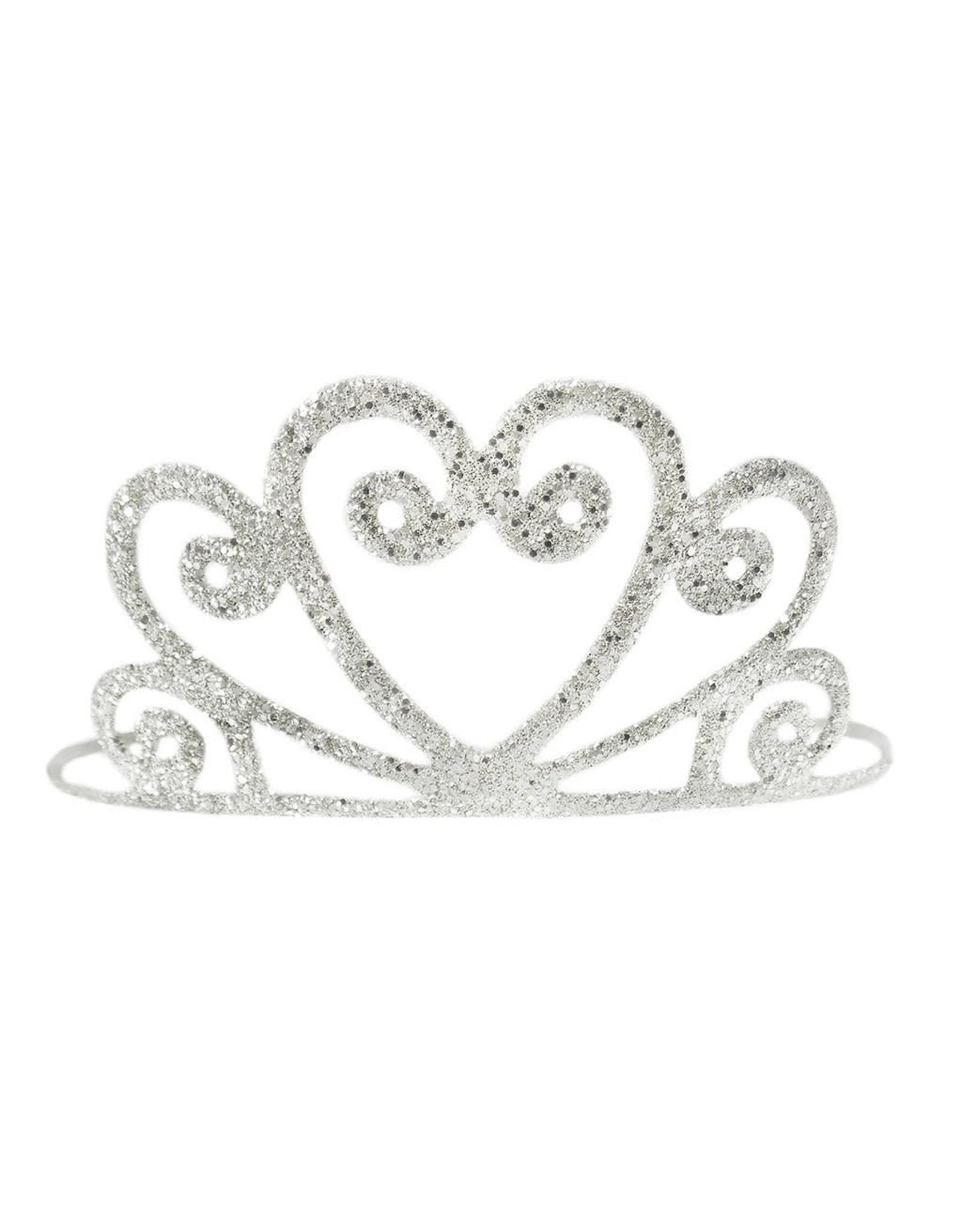 Great Pretenders Gold or Silver Glitter Tiara