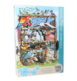 Cobble Hill Birds of the World 350 pc Family