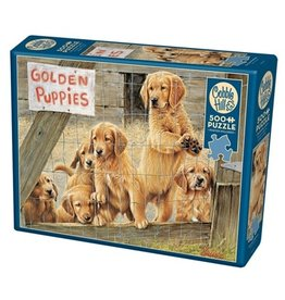 Cobble Hill Golden Puppies 500pc