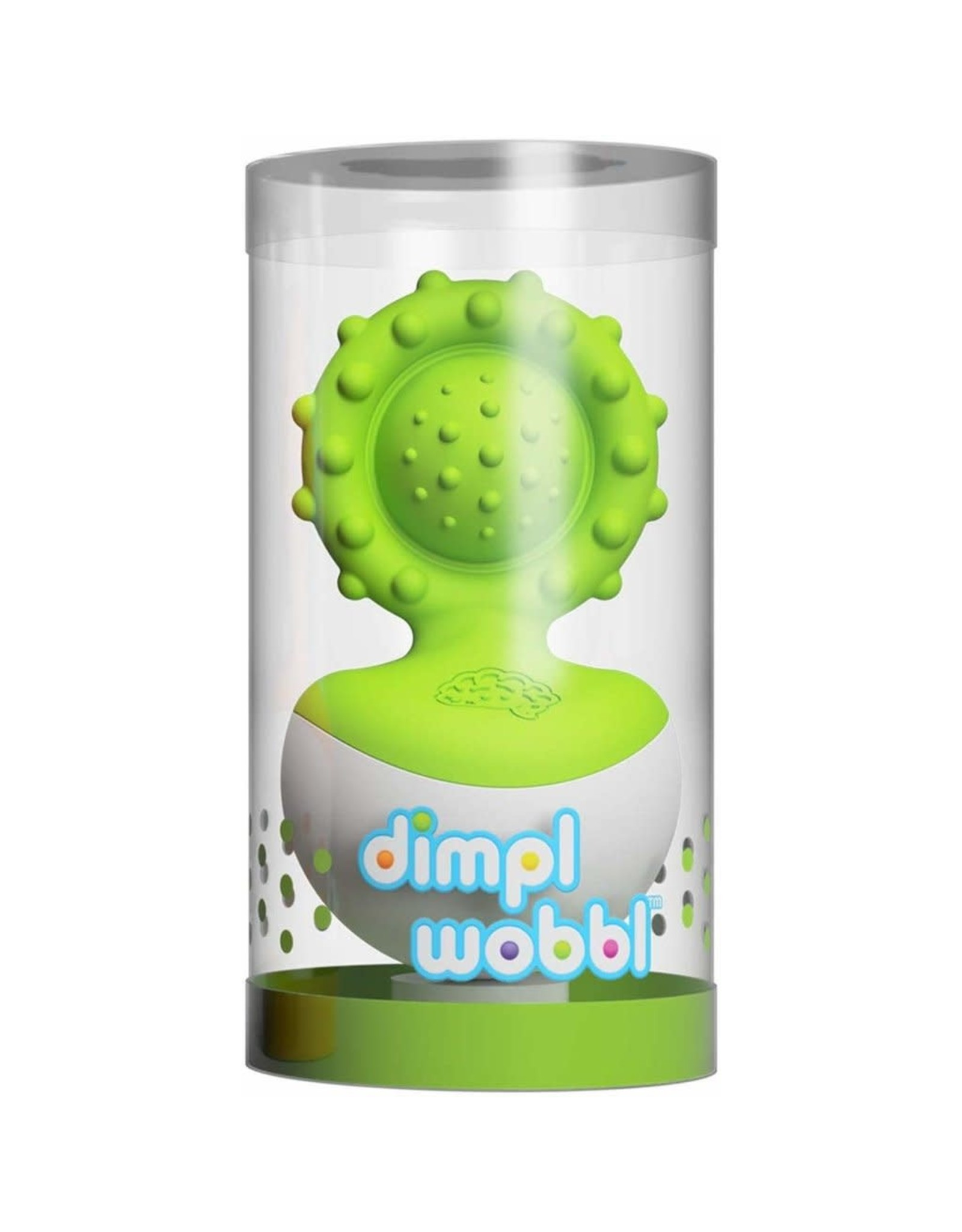 Fat Brain Toys Dimpl Wobbl - Green