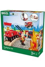Brio BRIO Rescue Firefighter Set