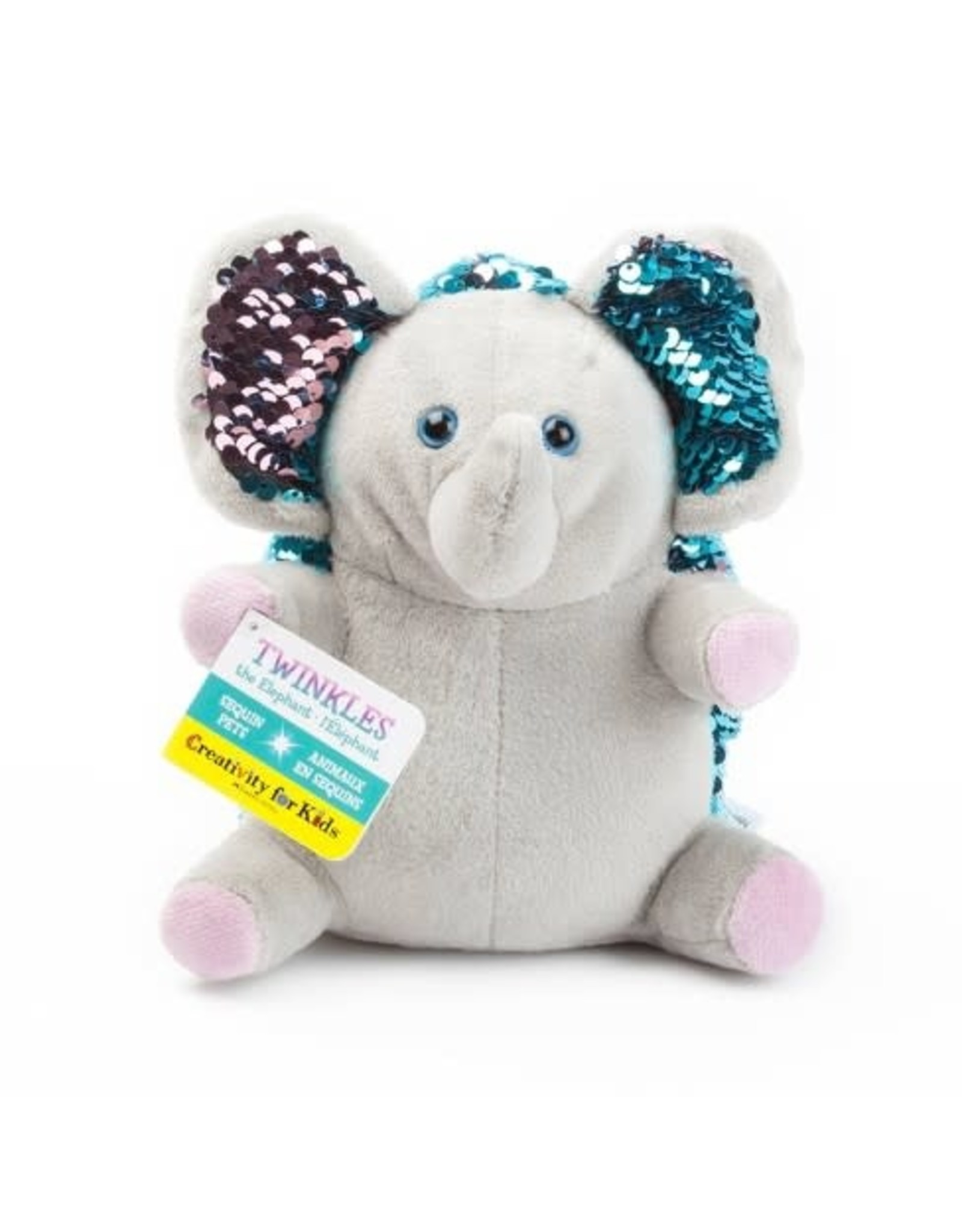 Creativity For Kids Mini Sequin Pets: Twinkles the Elephant