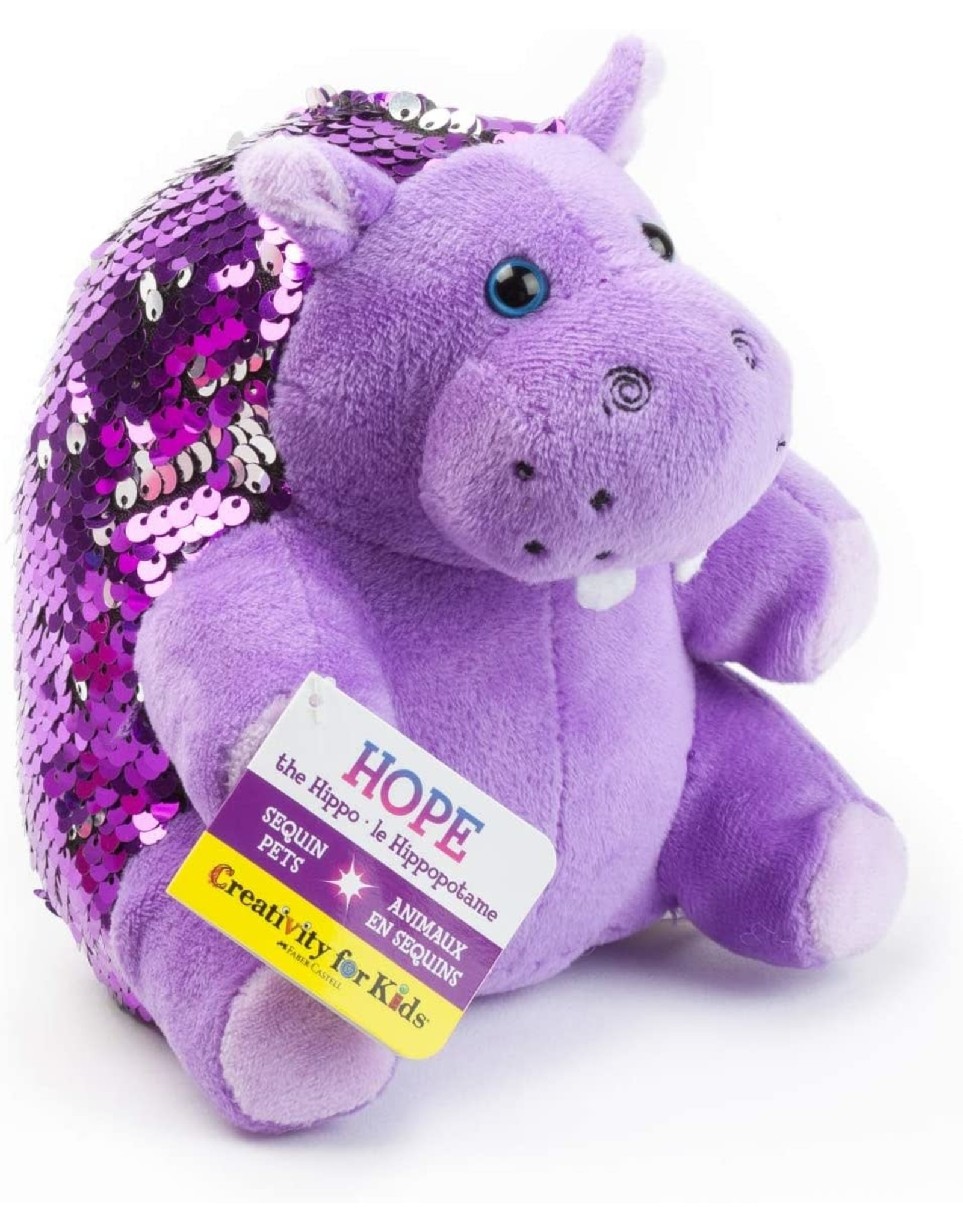 Creativity For Kids Mini Sequin Pets: Hope the Hippopotamus