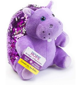 Creativity For Kids Mini Sequin Pets: Hope the Hippopotamus