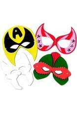 Roylco Super Hero Masks 24/pkg