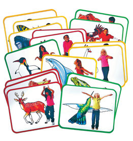 Roylco Body Poetry - Animal Action Cards