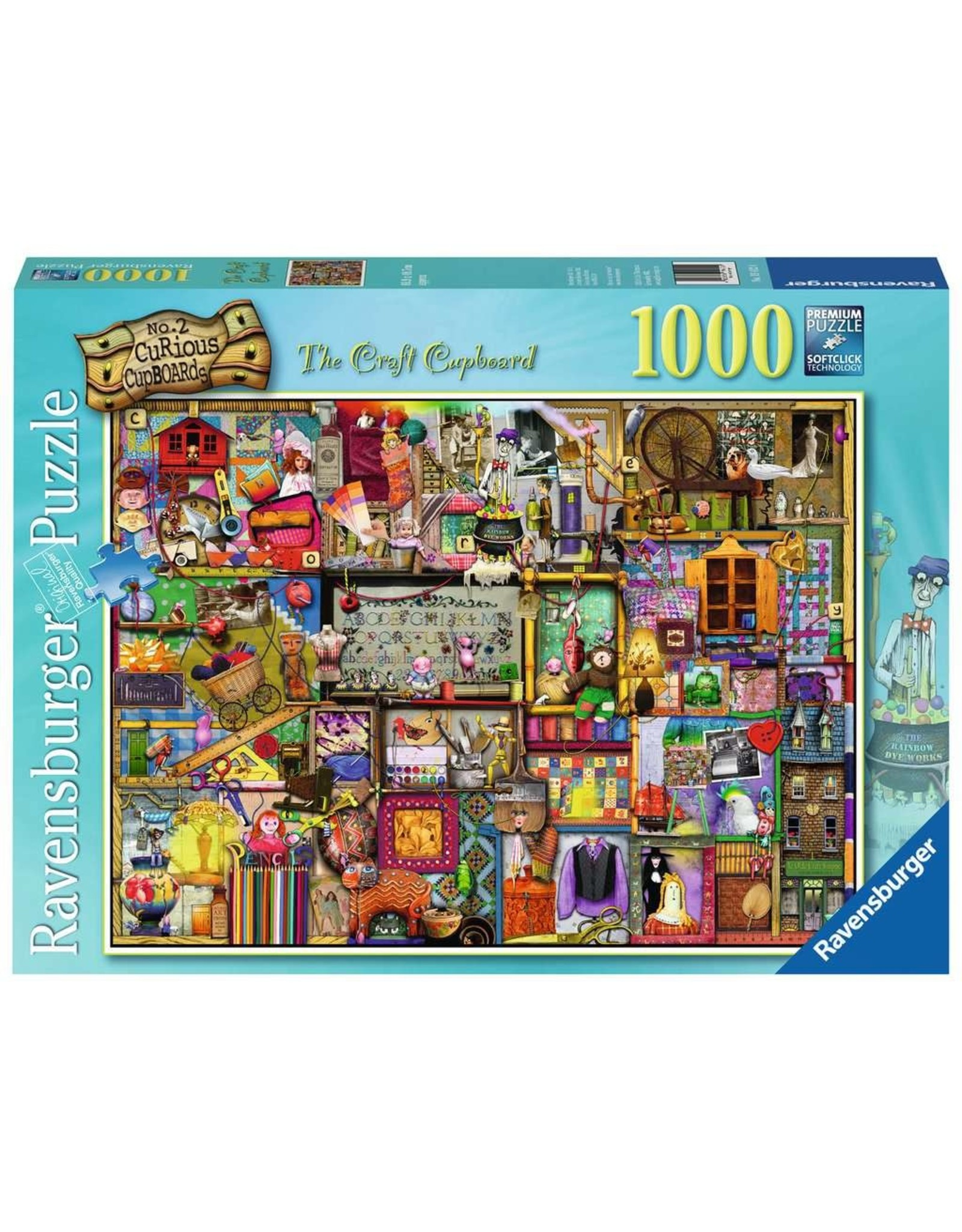 Ravensburger Colin Thompson: The Craft Cupboard