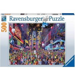 Ravensburger New Years in Time Square 500pc