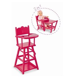 Corolle High Chair - Cherry