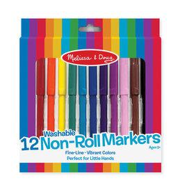 Melissa & Doug Melissa & Doug: 12 Non Roll Markers