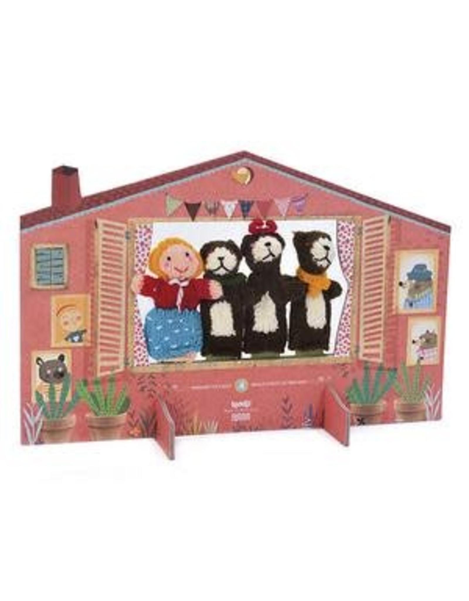 Iondji Finger Puppets - Goldilocks