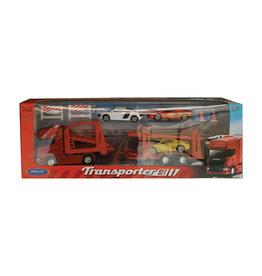 Welly Transporter Set