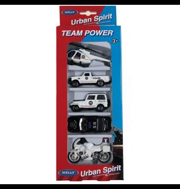 Welly Urban Spirit 5pc City Team Set Assorted