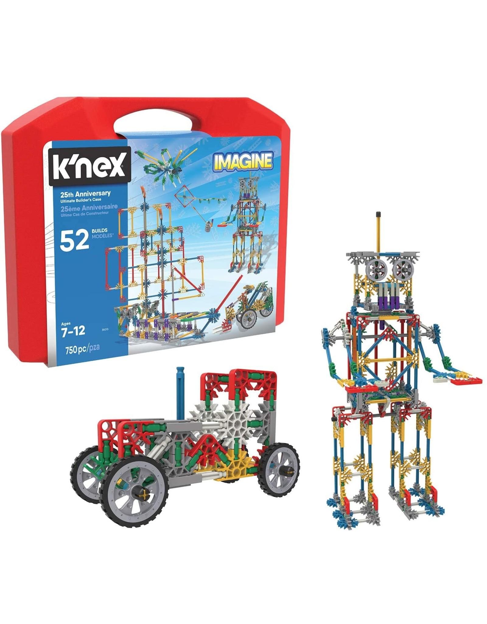 K'Nex 25th Anniversary Ultimate Builders Case