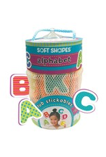 iKids - Soft Shapes Tub Stickables- Alphabet