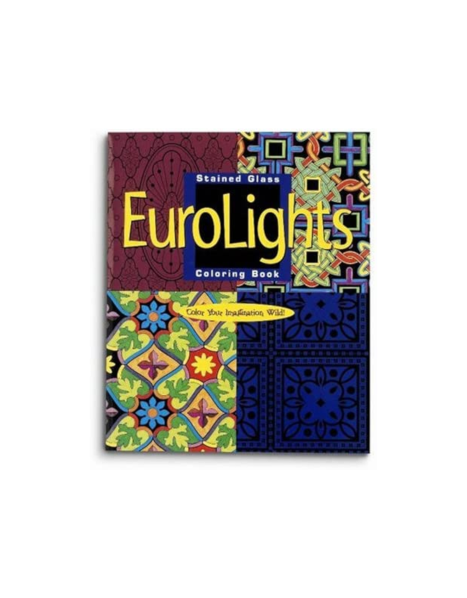 Mindware Eurolights - Stained Glass Colouring Book