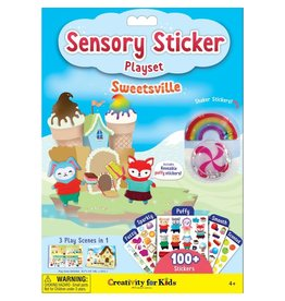 Creativity For Kids Sensory Sticker Playset Sweetsville