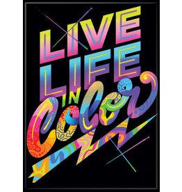 Jnaylor Live Life Love Flat Magnet