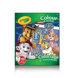 Crayola Crayola Colouring & Sticker Book Paw Patrol