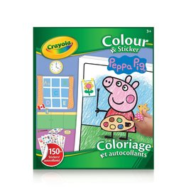 Crayola Crayola Colouring & Sticker Book Peppa Pig