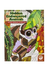 Mindware Hidden Endangered Animals Colouring Book