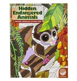 Mindware Hidden Endangered Animals Colouring Book
