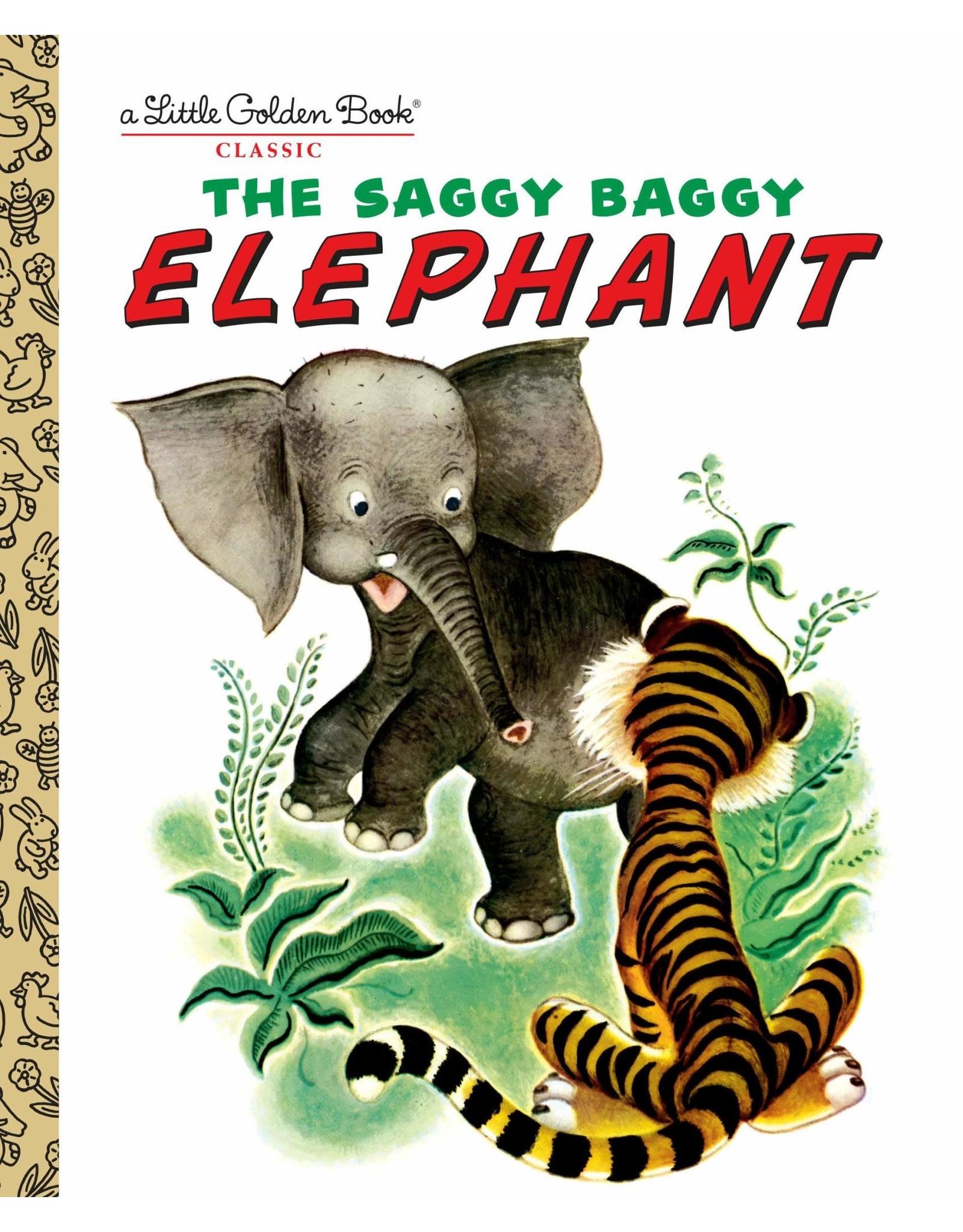 Little Golden Books The Saggy, Baggy Elephant Little Golden Book