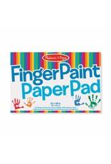 "Melissa & Doug Melissa & Doug: Finger Paint Paper Pad 12"" x 18"""