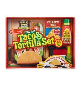 Melissa & Doug Fill & Fold Taco & Tortilla Set