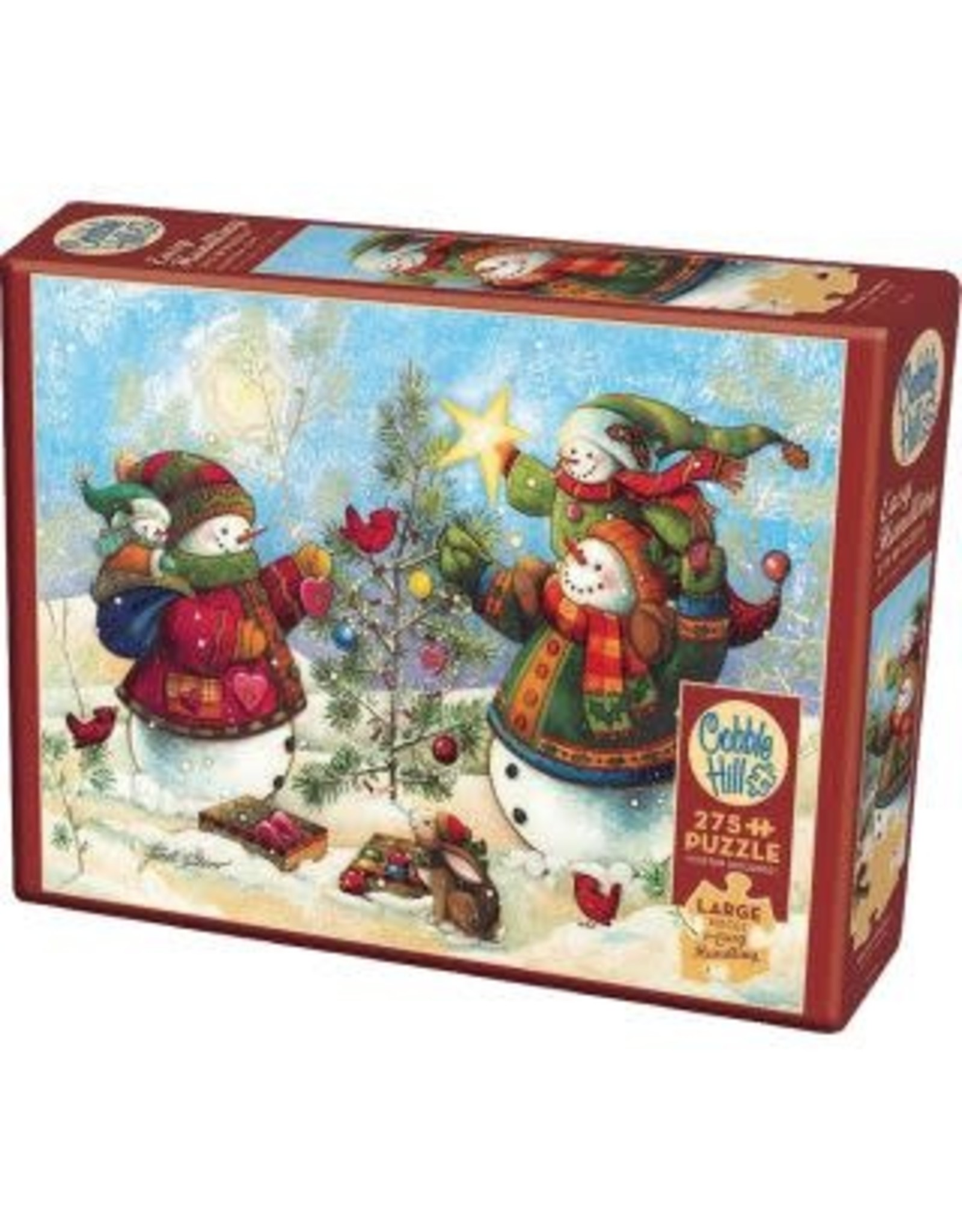 Cobble Hill Holiday Sparkle 275pc