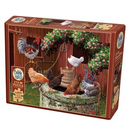 Cobble Hill The Chickens are Well 275 pc