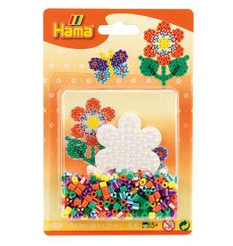 Hama Hama Small Striped Bead Kit Orange