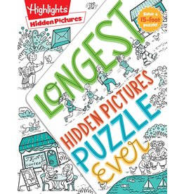 Highlights Longest Hidden Pictures Puzzle Ever