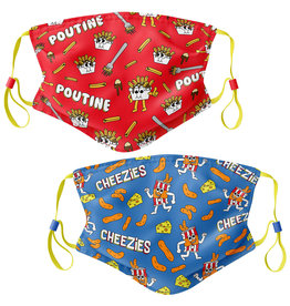 Main & Local Kids Canadian Snack Face Mask - 2 Pack (Kids Size)