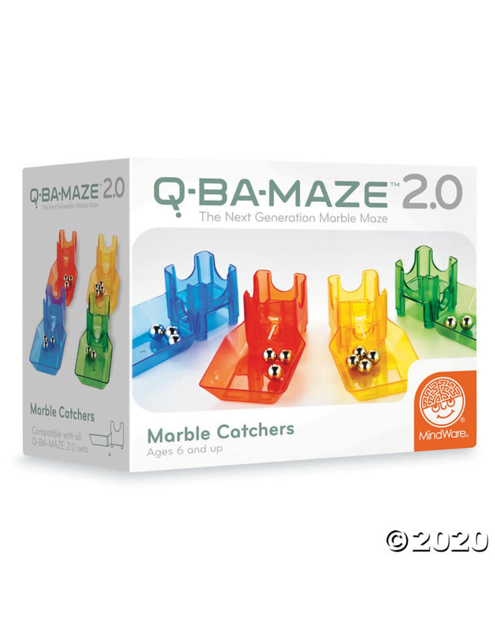 Mindware Q-BA-MAZE Marble Catchers