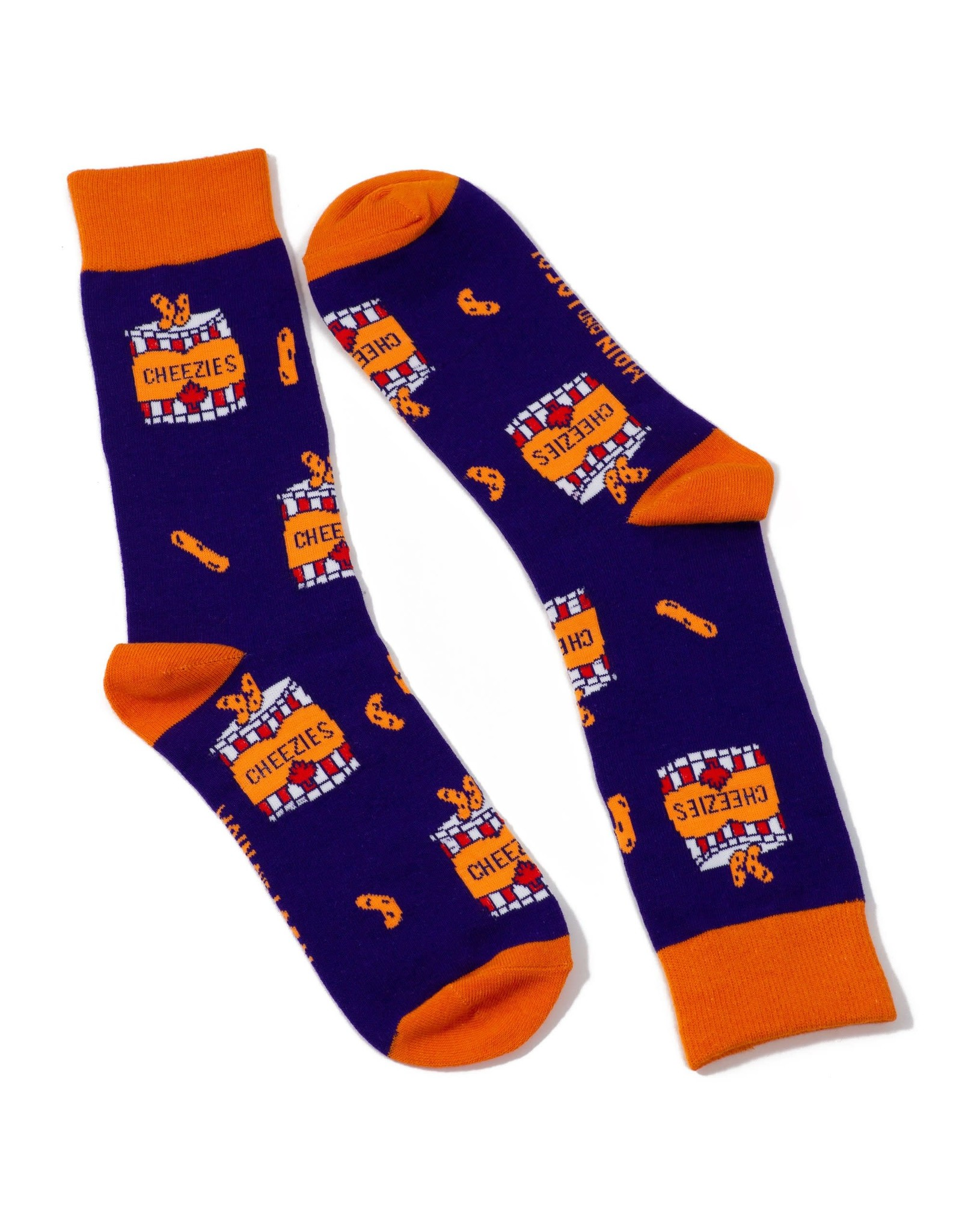 Main & Local Canadian Cheezies Socks