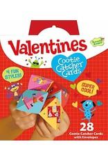 Peaceable Kingdom Cootie Catcher Valentines Cards