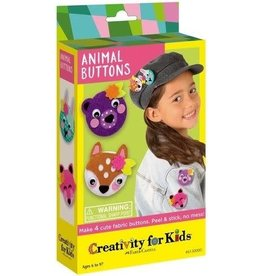 Creativity For Kids Make Your Own Animal Buttons