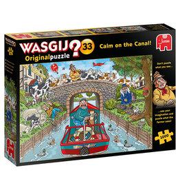 Jumbo Wasgij Original #33/ Calm on the Canal! 1000 pc