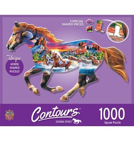 Master Pieces Running Horse 1000pc