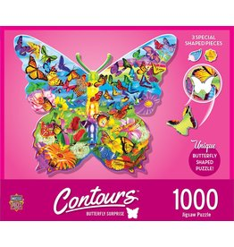 Master Pieces Butterfly Surprise 1000pc