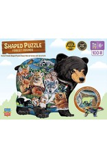 Master Pieces Forest Friends 100pc