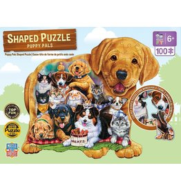 Master Pieces Puppy Pals 100pc