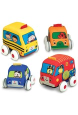 Melissa & Doug Melissa & Doug: Pull-Back Vehicles