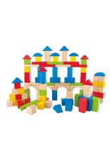 Hape Hape Build Up & Away Blocks - 100 pcs